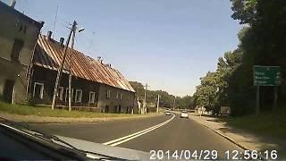 preview picture of video 'Droga krajowa nr 94: Pyskowice - Strzelce Opolskie'