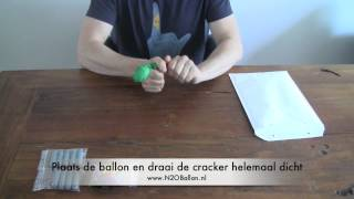 HOW DOES IT WORK: N2O/lachgas slagroom cracker l N2OBallon! Lachgas kopen!
