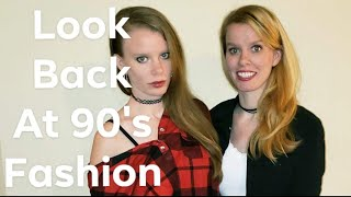 Prep to Grunge, a look back on 90's fashion.