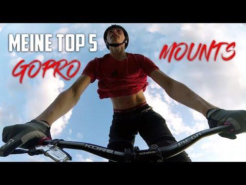 TOP 5 GOPRO MOUNTS für MTB (Deutsch/German)