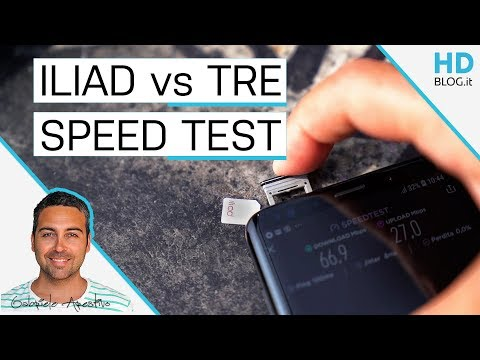 ILIAD vs WIND TRE: SPEED TEST E COPERTURA A MILANO