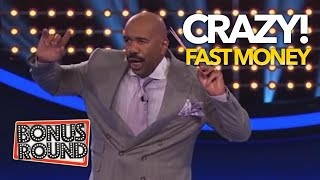 GREATEST FAST MONEY EVER On Family Feud USA! Bonus Round