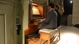 J. S. Bach - Fughetta super Herr Christ der ein´ge Gottes-Sohn BWV 698
