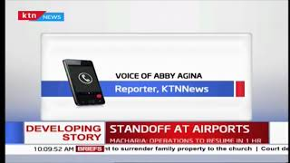Union Officials arrested and detained at JKIA police station.