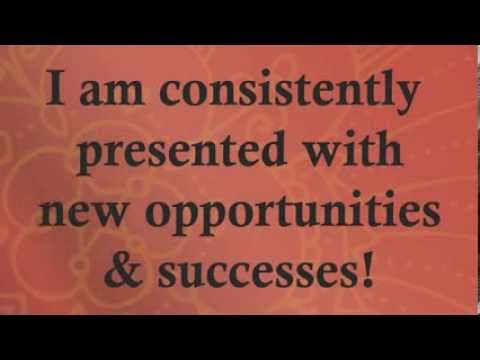 Professional Positive Affirmations For Success Wealth Abundance Law of Attraction for Money