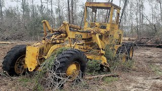 WILL IT START? FORGOTTEN GALION T400 Road Grader