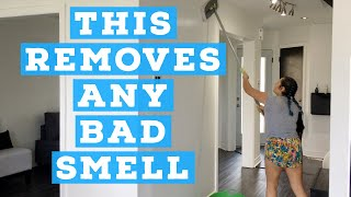 HOW TO CLEAN WALLS / HOW TO REMOVE BAD SMELL IN THE HOUSE