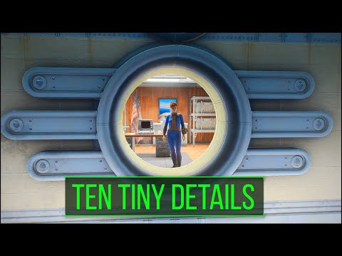 Fallout 4 – 10 Tiny Details You May Have Missed in the Wasteland - Fallout 4 Secrets (Part 9)