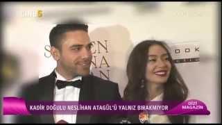 Neslihan Atagül & Kadir Doğulu- Dizi Magazin (CINE5) 18.04.2015
