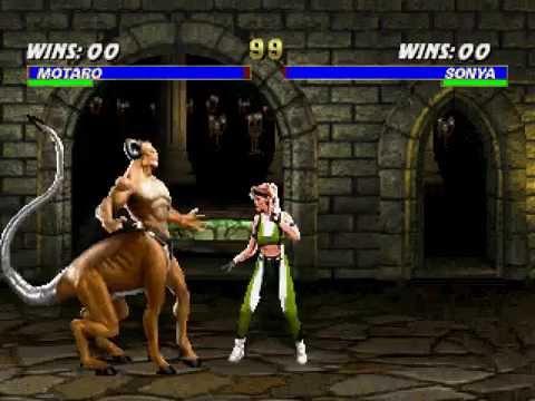 Mortal Kombat 3 [PS1] - play as Motaro (flawed)