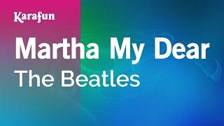 Karaoke Martha My Dear - The Beatles *
