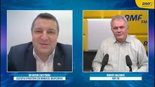 RMF Dr Artur Zaczyński o wolnym tempie szczepień: Musimy się nauczyć taśmociągu
