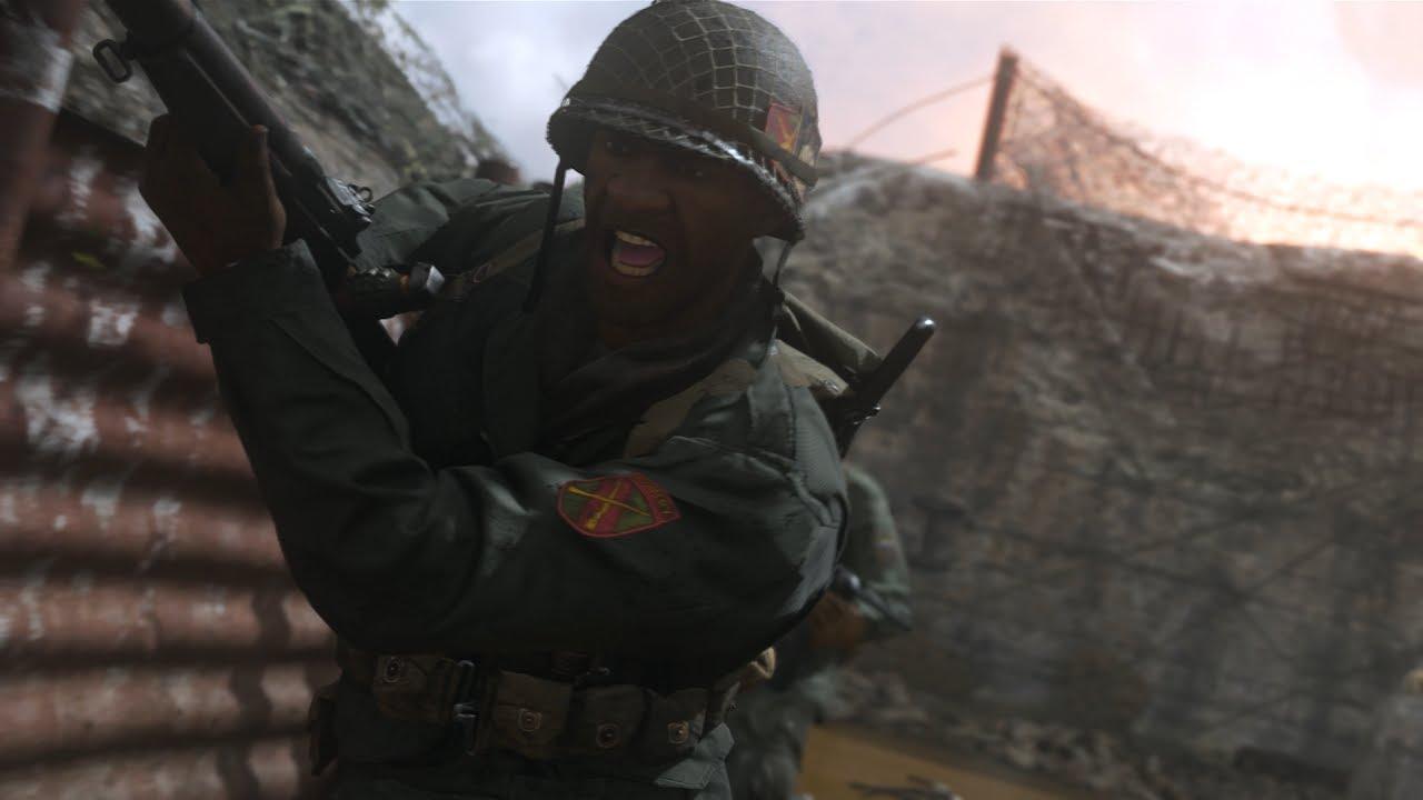 E3 2017: первая демонстрация мультиплеера Call of Duty: WWII