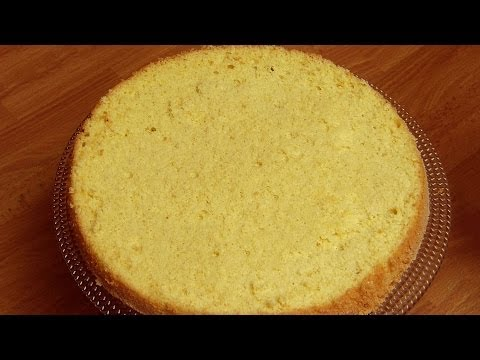 Video Simple Sponge Cake Recipe