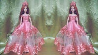 Cara Membuat Gaun Pengantin Barbie