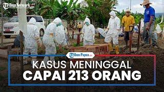 Update Kasus Covid-19 di Kota Jayapura, Total Kasus Kematian Mencapai 213 Orang
