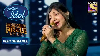 "Alka Yagnik का सुरीला ""Makhna"" Song पर Performance | Indian Idol Season 12 | Greatest Finale Ever"