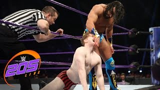 Gentleman Jack Gallagher vs. Tony Nese: WWE 205 Live, Feb. 21, 2017