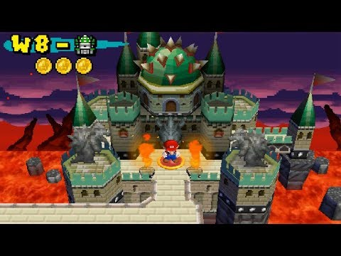 Newer Super Mario Bros DS - Koopa Country Final Castle