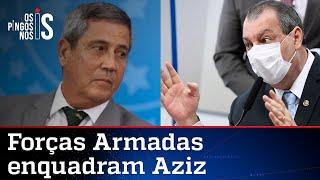 Forças Armadas respondem aos ataques de Omar Aziz