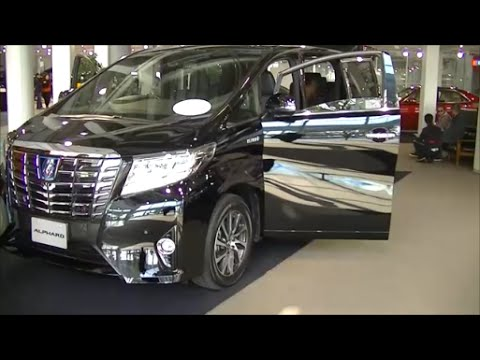 At last appeared from Toyota  New Alphard and New Vellfire