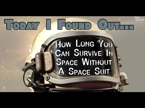 How Long You Could Survive in Space Without a Space Suit
