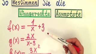 Asymptote berechnen (gebrochen rationale Funktionen) - Самые лучшие ...