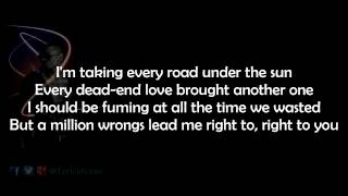 Chris Brown - Right Here - (lyrics)