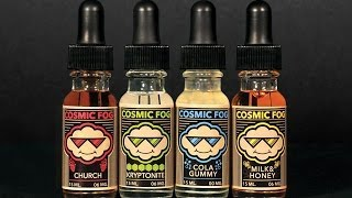 Cosmic Fog Milk & Honey and Church Ejuice review.