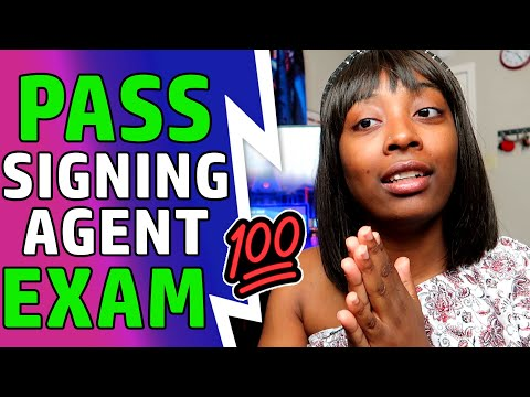 How to Pass Loan Signing Agent Exam | NNA - YouTube