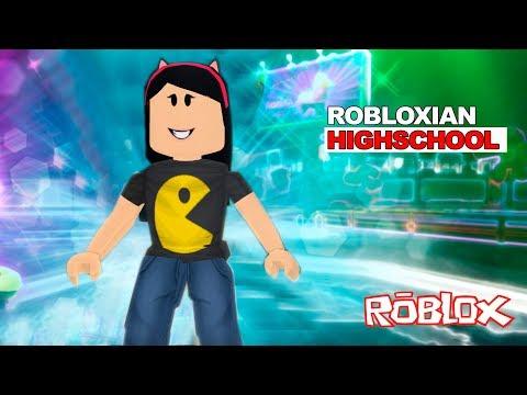 Roblox - DIVERSÃO NA ESCOLA (Robloxian Highschool) | Luluca Games