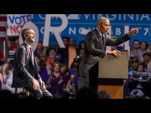 Barack Obama calls for unity as he returns to campaign trail in Virginia