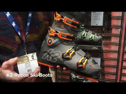 K2 Recon Ski Boots – Outdoor Retailer 2018