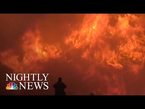 Southern California wildfires leave 800 structures in ashes | NBC Nightly News