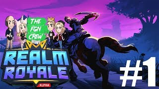 CLUCK CLUCK   REALM ROYALE GAMEPLAY #1