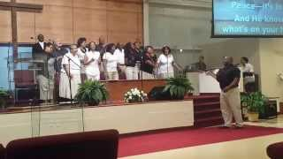 Triumph Choir singing Holy is Your Word ~ J. Moss