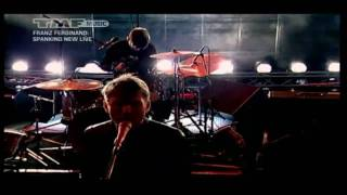05 Franz Ferdinand - MTV Spanking New Sessions 2009 - interview + outsiders