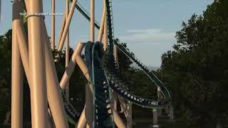 Kings Island Giga Coaster Concept Video