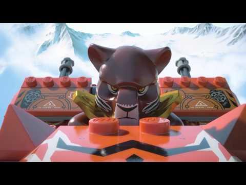 Vidéo LEGO Chima 70224 : La base mobile de combat