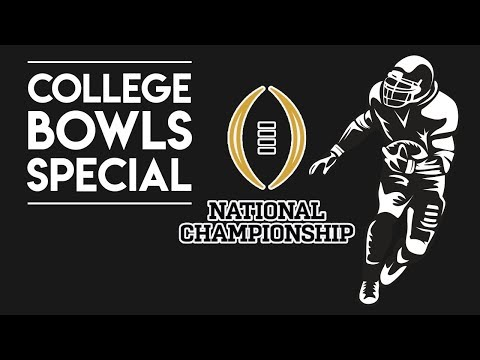 College Football National Championship Betting Odds Special LIVE