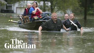 Storm Imelda lashes Texas with 'life-threatening' amounts of rainfall