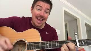 Written In The Sand | Old Dominion | Beginner Guitar Lesson