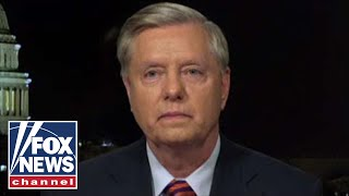Lindsey Graham reacts to Trump's Oval Office speech