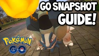 HOW TO USE GO SNAPSHOT FOR POKÉMON GO!