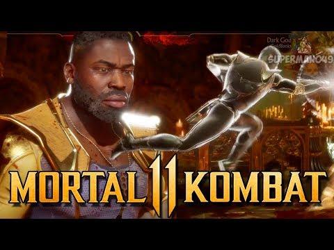 """JAX FROM DOWN TOWN! - Mortal Kombat 11: """"Jax"""" Gameplay"""