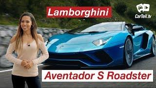 2018 Lamborghini Aventador S Roadster   Walk Around   CarTell.tv   Kholo.pk