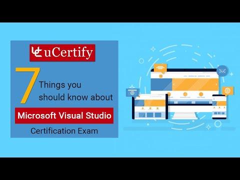 Microsoft Visual Studio Certification Exam - YouTube