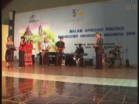 Cindai -The Professor Band -  Live at Malam Apresiasi Prestasi Mahasiswa UI 2005