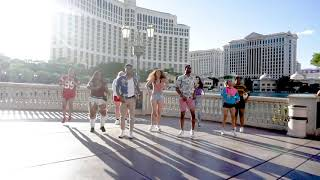 Carmelo And Erin's Flash Mob Proposal In Las Vegas!