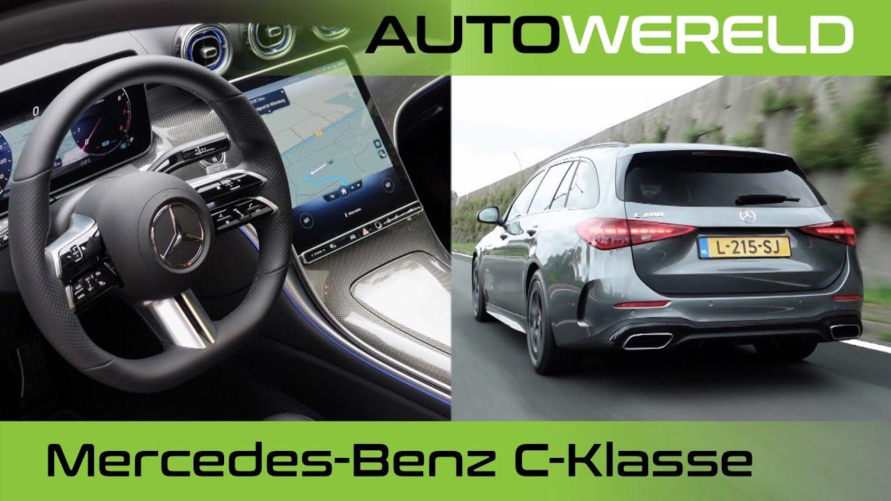 Mercedes-Benz C-Klasse (2022) review met Tom Coronel